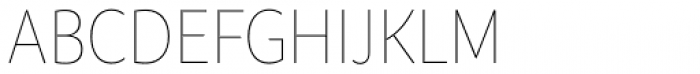 Branding SF Narrow Thin Font UPPERCASE