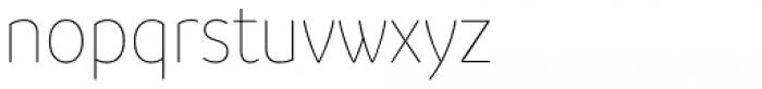 Branding SF Narrow Thin Font LOWERCASE