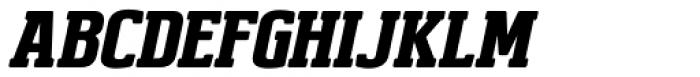 Brando Italic Font UPPERCASE