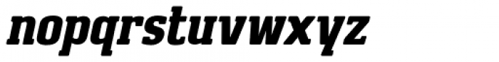 Brando Italic Font LOWERCASE