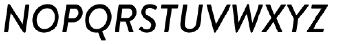 Brandon Text Medium Italic Font UPPERCASE