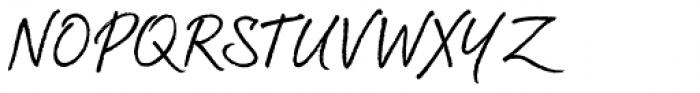 Brandy BF Font UPPERCASE