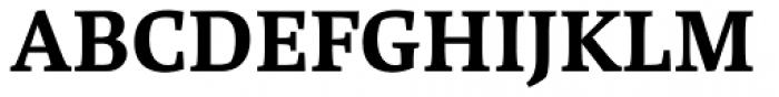 Brasilica SemiBold Font UPPERCASE