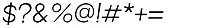Brasley Regular Italic Font OTHER CHARS