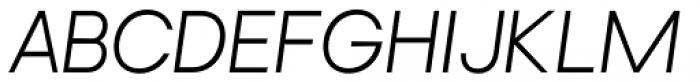 Brasley Regular Italic Font UPPERCASE