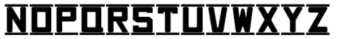 Brass Rail JNL Font LOWERCASE