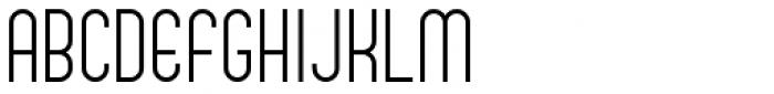 Bratislava Font UPPERCASE