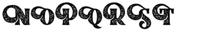 Braton Composer Stamp Rough Regular Font UPPERCASE