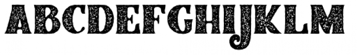 Braton Composer Stamp Rough Regular Font LOWERCASE
