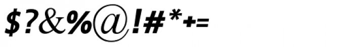 Braun MF Bold Italic Font OTHER CHARS