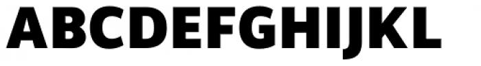 Brava Sans Black Font UPPERCASE