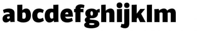 Brava Sans Black Font LOWERCASE