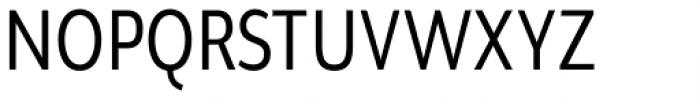 Brava Sans Condensed Regular Font UPPERCASE