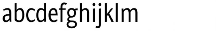 Brava Sans Condensed Regular Font LOWERCASE