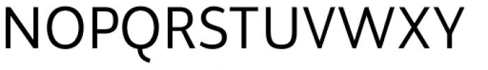 Brava Sans Regular Font UPPERCASE