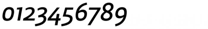 Brava Sans Semi Bold Italic Font OTHER CHARS
