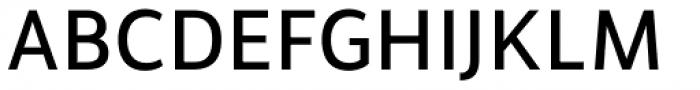 Brava Sans Semi Bold Font UPPERCASE