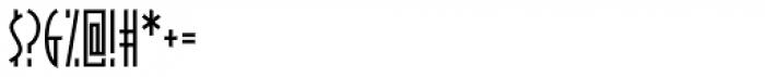 BraveWorld Font OTHER CHARS