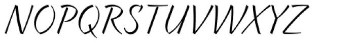 Braxton Book Font UPPERCASE