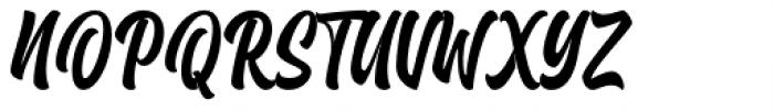 Brayles Regular Font UPPERCASE