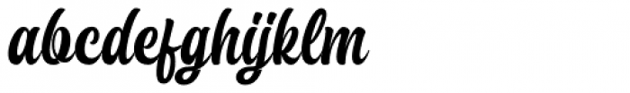 Brayles Regular Font LOWERCASE