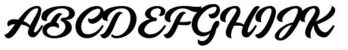 Breakout Regular Font UPPERCASE