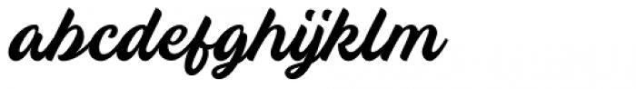 Breakout Regular Font LOWERCASE