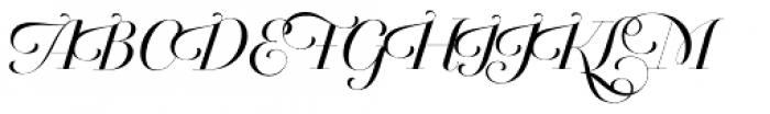 Breathe Neue Font UPPERCASE