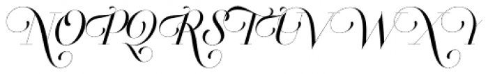 Breathe Pro Font UPPERCASE
