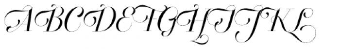 Breathe Standard Font UPPERCASE