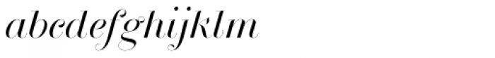 Breathe Standard Font LOWERCASE