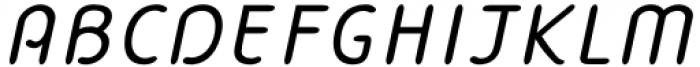 Bredagh Italic Font UPPERCASE