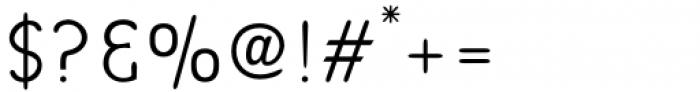 Bredagh Light Font OTHER CHARS