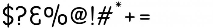 Bredagh Regular Font OTHER CHARS