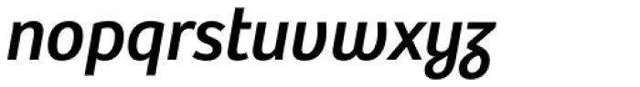 Bree Oblique Font LOWERCASE
