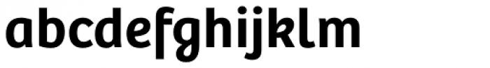 Bree SemiBold Font LOWERCASE