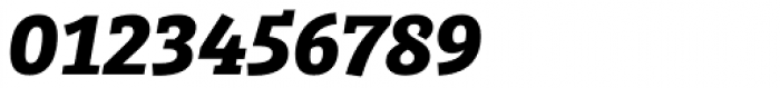 Bree Serif Bold Italic Font OTHER CHARS