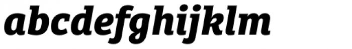 Bree Serif Bold Italic Font LOWERCASE