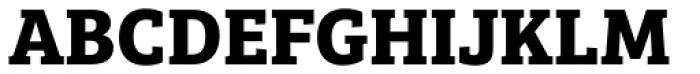 Bree Serif Bold Font UPPERCASE