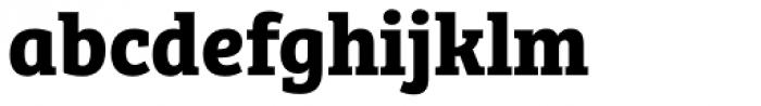 Bree Serif Bold Font LOWERCASE
