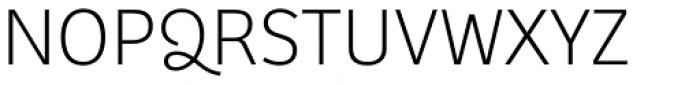 Bree Thin Font UPPERCASE