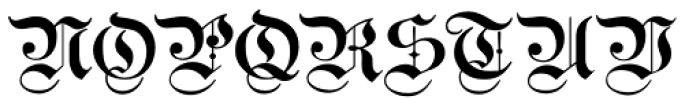 Breite Kanzlei Font UPPERCASE