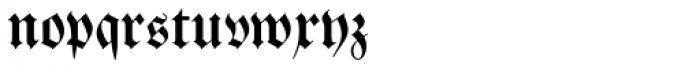 Breitkopf Fraktur Pro Font LOWERCASE