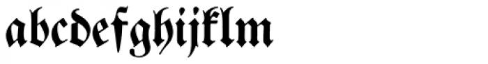 Breitkopf Fraktur Font LOWERCASE