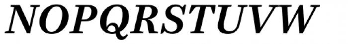 Bressay Bold Italic Font UPPERCASE