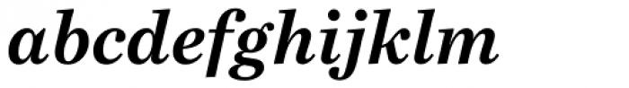 Bressay Bold Italic Font LOWERCASE