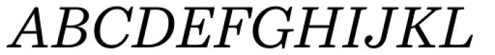 Bressay Italic Font UPPERCASE