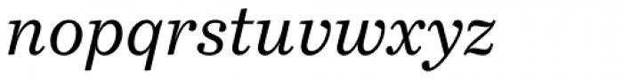 Bressay Italic Font LOWERCASE