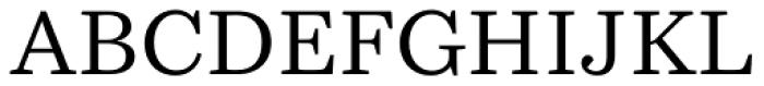Bressay Font UPPERCASE