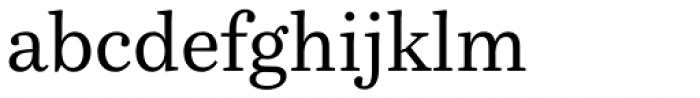 Bressay Font LOWERCASE